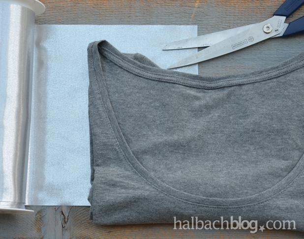 DIY-Anleitung halbachblog: Shirt mit Stern-Applikation, Material